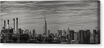 New York Skyline Canvas Print by Robert Ullmann