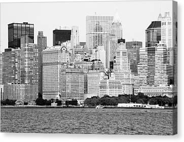 New York Skyline Canvas Print by Sean Myers