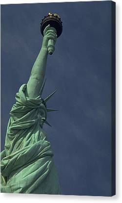 Canvas Print featuring the photograph New York by Travel Pics