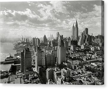 New Your City Skyline Canvas Print by Jon Neidert
