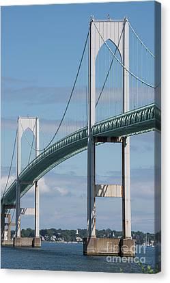 Newport Bridge Canvas Print by Juli Scalzi