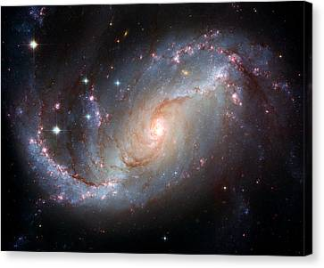 Ngc 1672 Canvas Print by Space Art Pictures