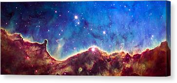 Ngc 3324 Hubble Canvas Print by Space Art Pictures