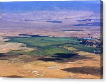 Ngorongoro Crater Tanzania Canvas Print by Aidan Moran