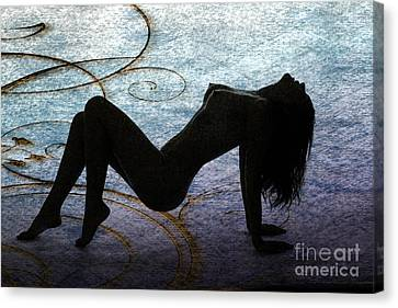 Nicole Female Nude Fine Art Print Photographs   4230.02 Canvas Print by Kendree Miller