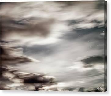 Night Sky 3 Canvas Print by Leland D Howard