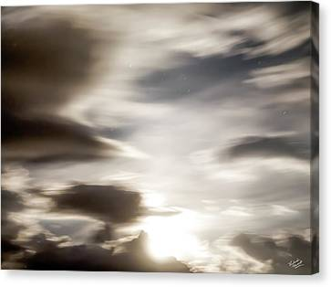 Night Sky 4 Canvas Print by Leland D Howard