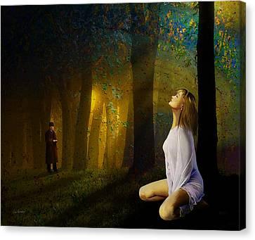 Night Vision Canvas Print by Van Renselar