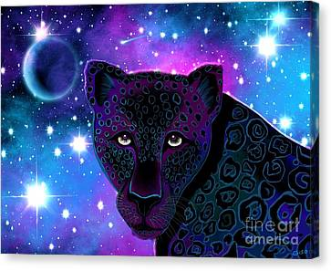Night Watcher Canvas Print by Nick Gustafson