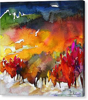 Nightfall 06 Canvas Print by Miki De Goodaboom