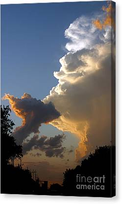 Nightly Storm Canvas Print by Steve Augustin