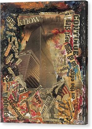 Nine Eleven Canvas Print by Ikahl Beckford