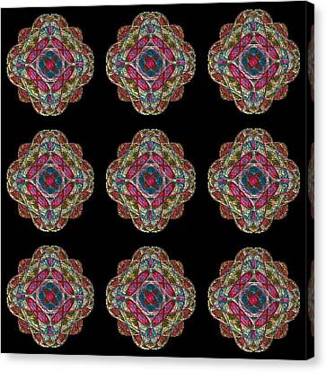 Nine Medallions Canvas Print by Thomas Smith