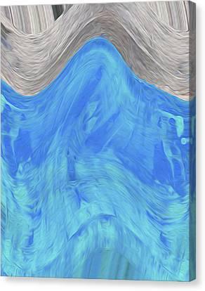 Nixolas Abstract 001  Canvas Print by Nixo Nixolas