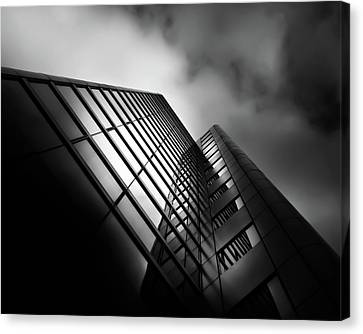 No 525 University Ave Toronto Canada No 2 Canvas Print by Brian Carson