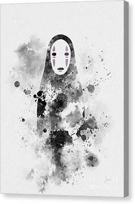 No Face Canvas Print by Rebecca Jenkins