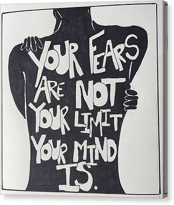 No Fears, No Limits Canvas Print by Sara Young