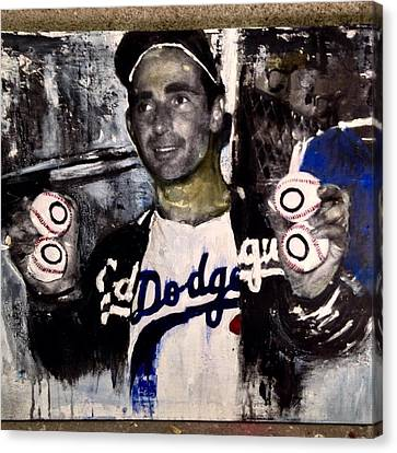 No-hitter Canvas Print by Ric'Diculous' artist