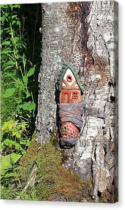 No Place Like Gnome Home I Canvas Print by Eric Knowlton