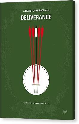 No020 My Deliverance Minimal Movie Poster Canvas Print by Chungkong Art