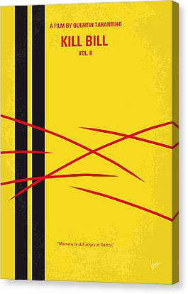 No049 My Kill Bill-part2 Minimal Movie Poster Canvas Print by Chungkong Art
