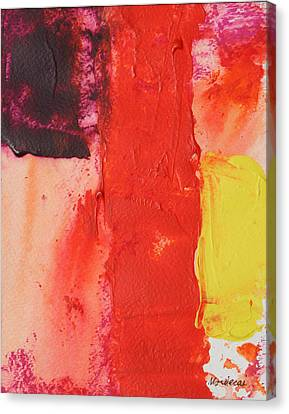 No.17 Canvas Print by Mordecai Colodner