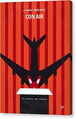 No446 My Con Air Minimal Movie Poster Canvas Print by Chungkong Art