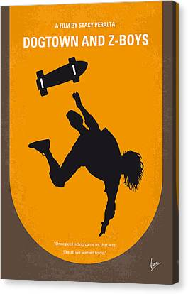 No450 My Dogtown And Z-boys Minimal Movie Poster Canvas Print by Chungkong Art