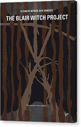 No476 My The Blair Witch Project Minimal Movie Poster Canvas Print by Chungkong Art