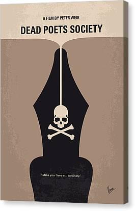 No486 My Dead Poets Society Minimal Movie Poster Canvas Print by Chungkong Art