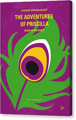 No498 My Priscilla Queen Of The Desert Minimal Movie Poster Canvas Print by Chungkong Art