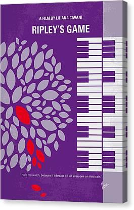 No546 My Ripleys Game Minimal Movie Poster Canvas Print by Chungkong Art