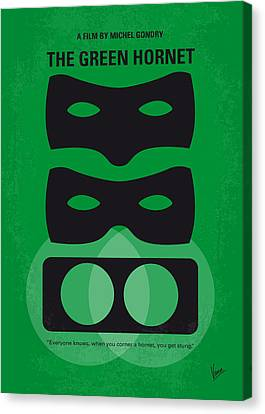 No561 My The Green Hornet Minimal Movie Poster Canvas Print by Chungkong Art