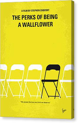 No575 My Perks Of Being A Wallflower Minimal Movie Poster Canvas Print by Chungkong Art
