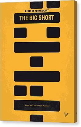 No622 My The Big Short Minimal Movie Poster Canvas Print by Chungkong Art