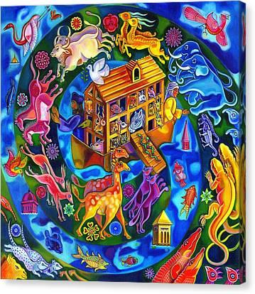 Noah's Ark Canvas Print by Jane Tattersfield