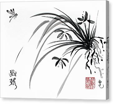Noble Grace Canvas Print by Oiyee At Oystudio