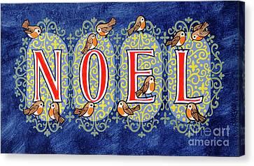 Noel Canvas Print by Stanley Cooke