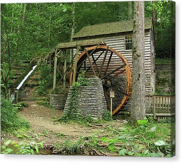 Rice Grist Mill II Canvas Print by Douglas Stucky