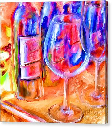 North Carolina Wine Canvas Print by Marilyn Sholin