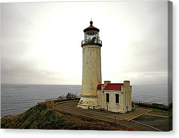 North Head Lighthouse - Graveyard Of The Pacific - Ilwaco Wa Canvas Print by Christine Till