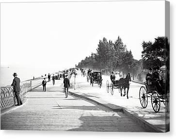 North Lake Shore Drive - Chicago 1905 Canvas Print by Daniel Hagerman