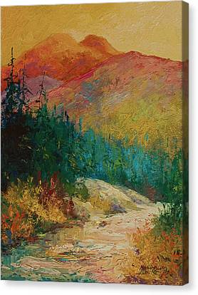 Northern Essence  Canvas Print by Marion Rose