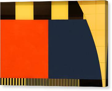 Nos Testscreen # 03 Canvas Print by Huib Limberg