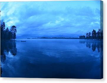 Nothing But Blue Skies Canvas Print by Lisa Wooten