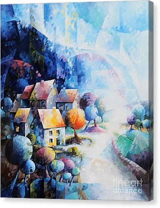 Nous Sommes Notre Propre Histoire Canvas Print by Beatrice BEDEUR