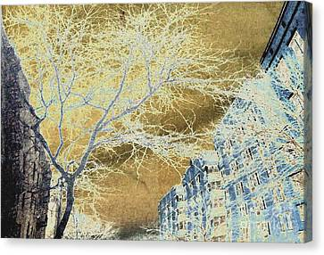 November In The Heights Canvas Print by Sarah Loft