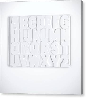 Now I Know My Abcs Canvas Print by Scott Norris
