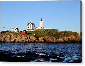 Nubble Light Canvas Print by Imagery-at- Work