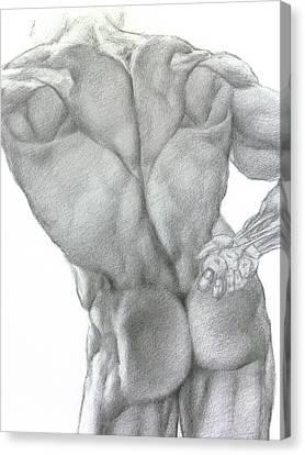 Nude 2a Canvas Print by Valeriy Mavlo